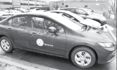 zipcar  drives  campus  offer  service  bradley scout