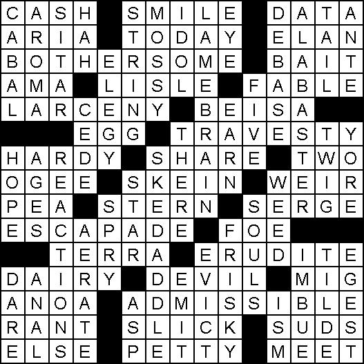 crossword-solution