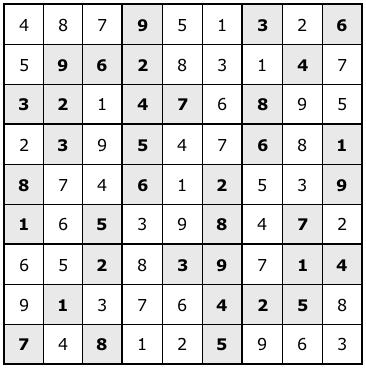sudoku solutions