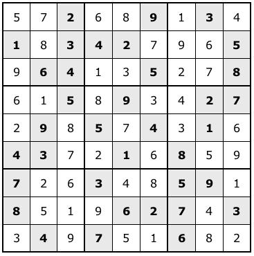 sudoku-solution