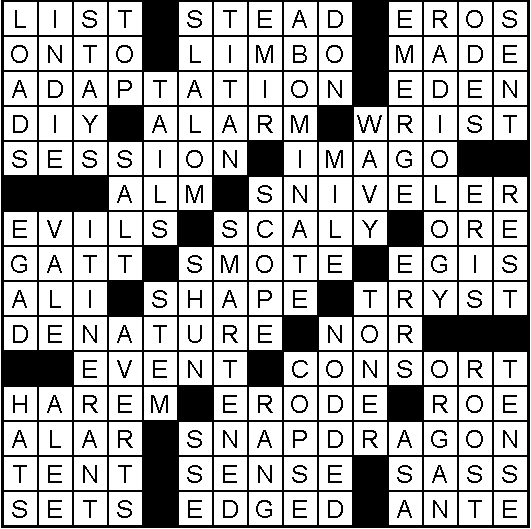 crossword-solution