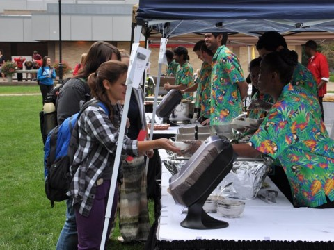 Culture on the Quad brought food from around the world to campus on Thursday, Sept. 25. Students were treated to Latin American, Asian Moroccan and Indian cuisine while other cultural events provided entertainment.