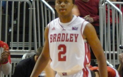 Junior Warren Jones scored 24 points for the Braves in their loss to Robert Morris Wednesday night. The Braves are 0-2 on the season and will try for their first win on Sunday vs. North Carolina A&T. Photo by Garth Shanklin.