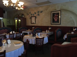 Located near campus on Sheridan Road, Rizzi's Italian Ristorante offers traditional Italian meals and a warm atmosphere. Photo by Sammantha Dellaria.