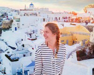 Valerie Gantert studied in Copenhagen, Denmark, during her sophomore year. photo by Valerie Gantert