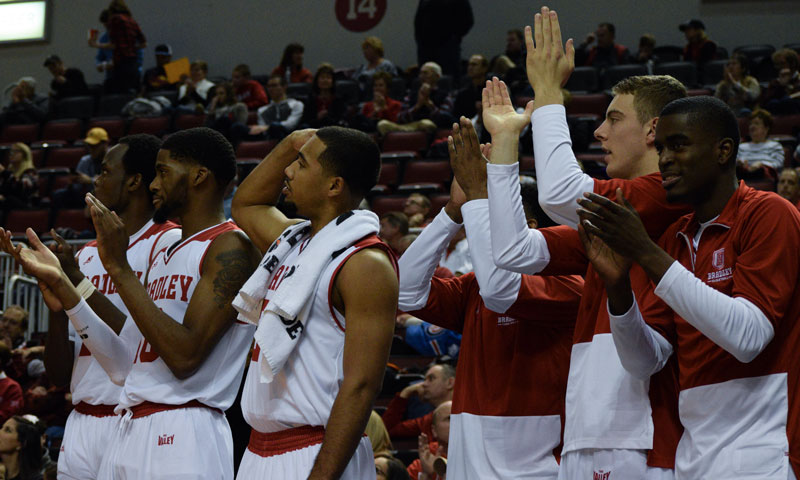 Men's basketball continues to impress – The Bradley Scout